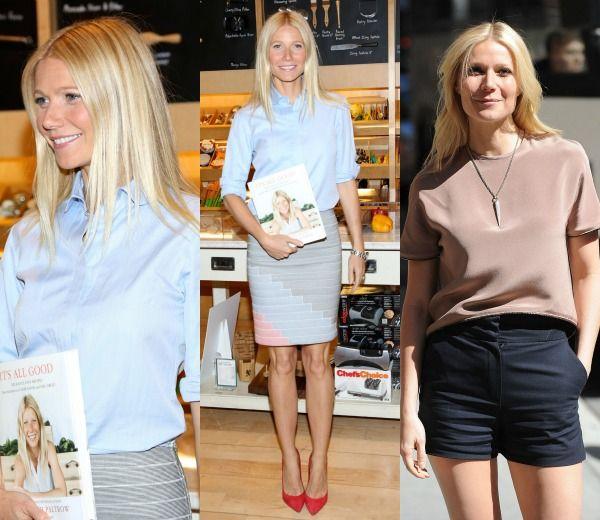 Gwyneth Paltrow es una mamá con estilo