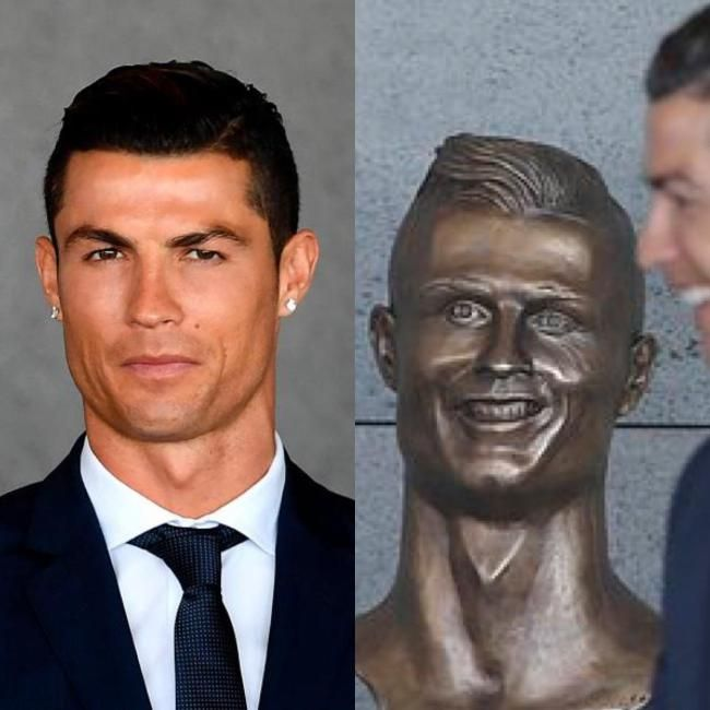 Artist Who Sculpted Cristiano Ronaldo's God Awful Statue Tries To Explain Himself - http://viralfeels.com/artist-who-sculpted-cristiano-ronaldos-god-awful-statue-tries-to-explain-himself/