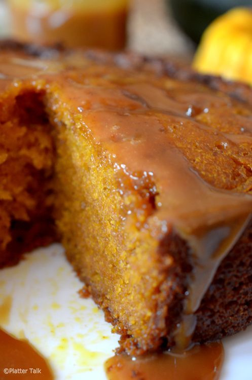caramel pumpkin cake in the crock pot. Now this is one I've had and it is seriously addictively delicious.  You'd better have plenty of people to share it with or you may eat the whole cake in a couple of days. Not on my healthy list but if you are going to cheat, go all the way with this one!
