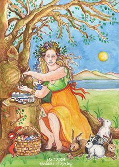 Ostara Goddess