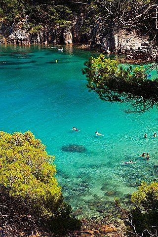 Aiguablava beach - Begur, Costa Brava, Girona, Catalonia.