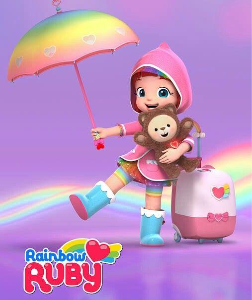 Rainbow Ruby | Rainbow, Ruby, Birthday