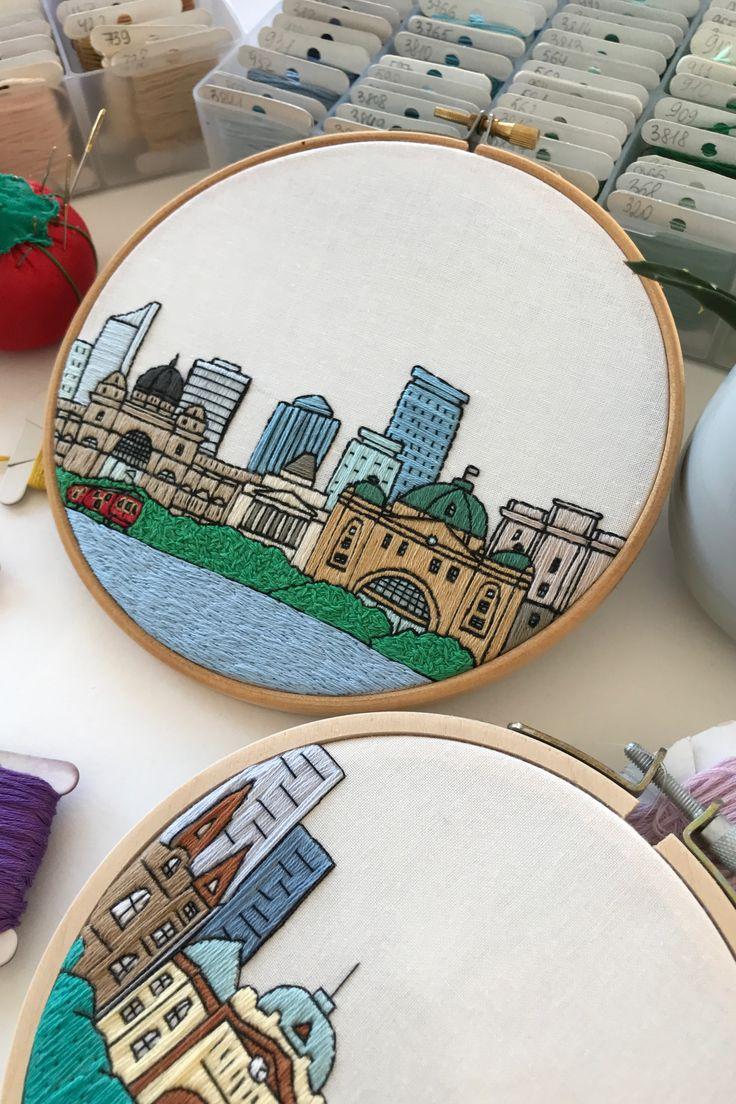 Housewarming Gift Embroidery Hoop art DIY Brisbane Australia Hand ...