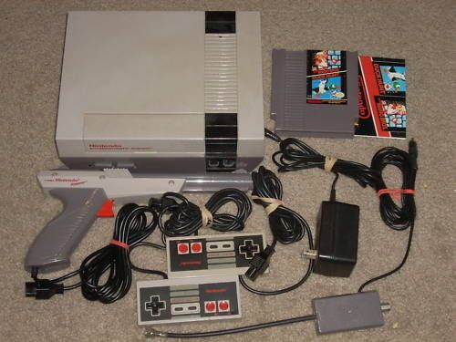 ***NINTENDO NES SYSTEM W/MARIO/DUCK HUNT & NEW 72 PIN** in Video Game Consoles | eBay