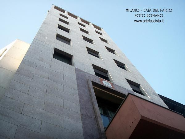Fascismo - Italia - Architettura