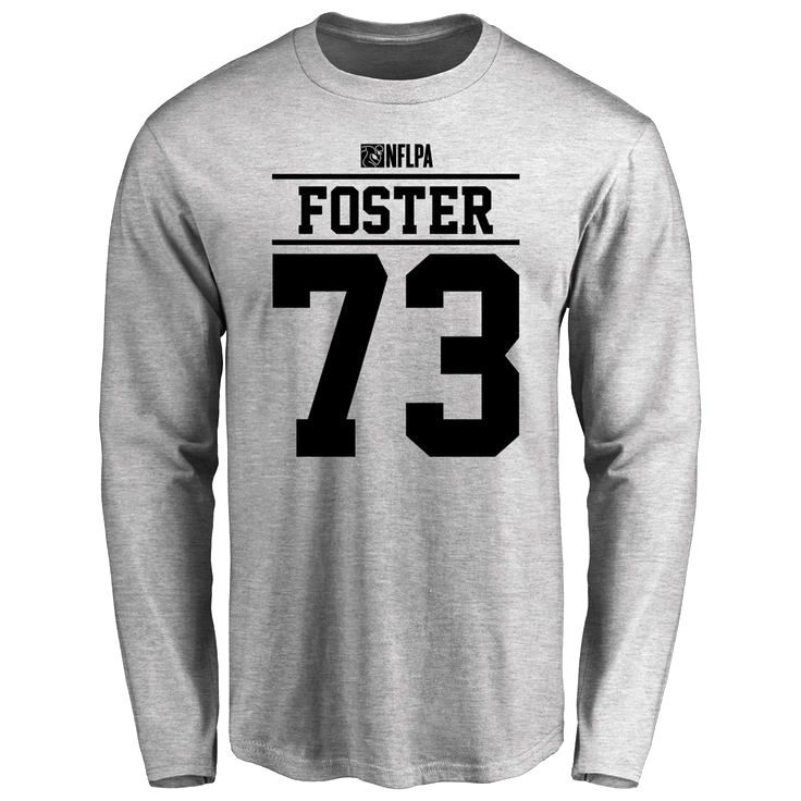 Ramon Foster Player Issued Long Sleeve T-Shirt - Ash - $25.95