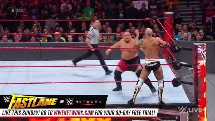 Renewing a rivalry fought across many continents, Cesaro battled Samoa Joe LIVE on WWE Raw.