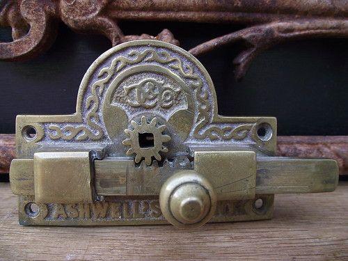 antique door locks. victorian ashwells patent toilet door lock vintage antique bathroom knobs brass locks