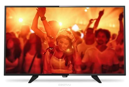 Philips 40PFT4101/60, Black телевизор  — 22490 руб. —  Philips 40PFT4101/60 - сверхтонкий светодиодный Full HD LED-телевизор. Утонченные линии подчеркивают изящность дизайна Изящный, современный, лаконичный дизайн. Неудивительно, что ультратонкий силуэт телевизора Philips притягивает к себе взгляд - это идеальное решение, которое прекрасно дополнит любой интерьер. USB для воспроизведения мультимедийного контента Делитесь впечатлениями. Подключите USB-накопитель, цифровую камеру, MP3-плеер…