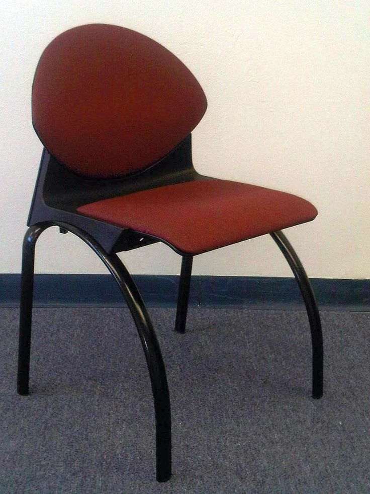 Used Vecta Side Chairs For Training, Break Room Or Lunch Room. Our Used  Office Side Chairs Have Burgundy Fabric And A Contemporary Design.