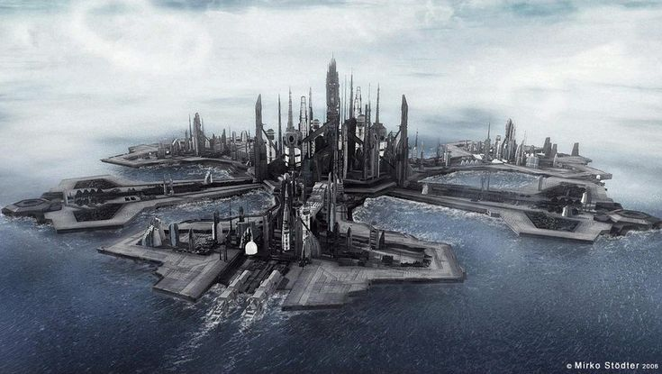 The City of Atlantis - stargate-atlantis photo