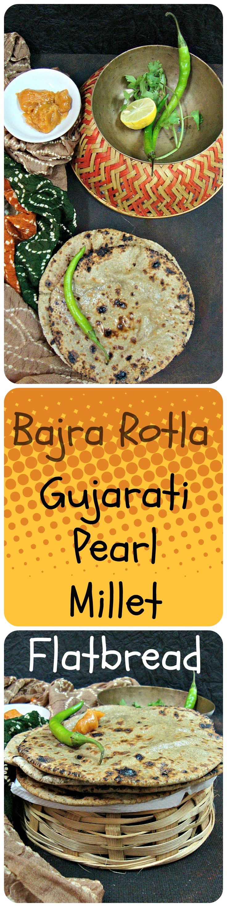 Bajra na Rotla Recipe | How to make traditional Gujarati Pearl Millet Flatbread