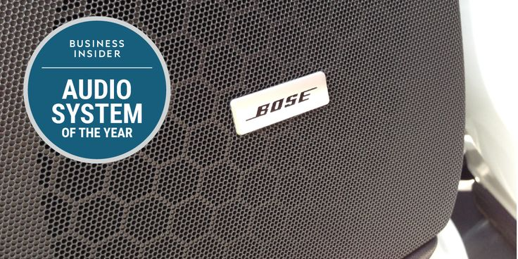 Bose is Business Insider's 2017 Car Audio System of the Year
