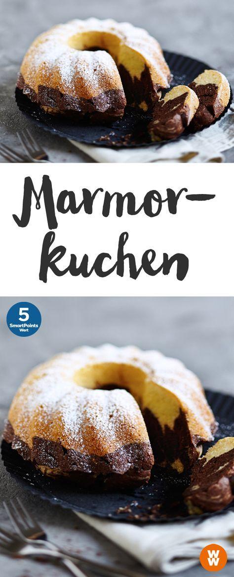 Marmorkuchen, Kuchen, Gebäck, Geburtstagskuchen | Weight Watchers