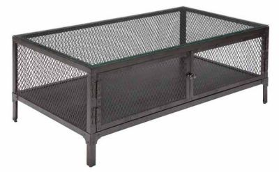 Metal cage table set Express  Rectangular Cocktail Table by La-Z-Boy