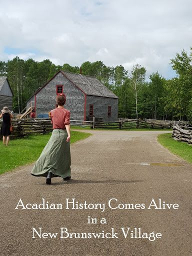 A glimpse into Acadian history at New Brunswick'sVillage Historique Acadien - Acadian Historical Village (VHA) showcases the daily lives of Acadians in New Brunswick over a period of several hundred years.