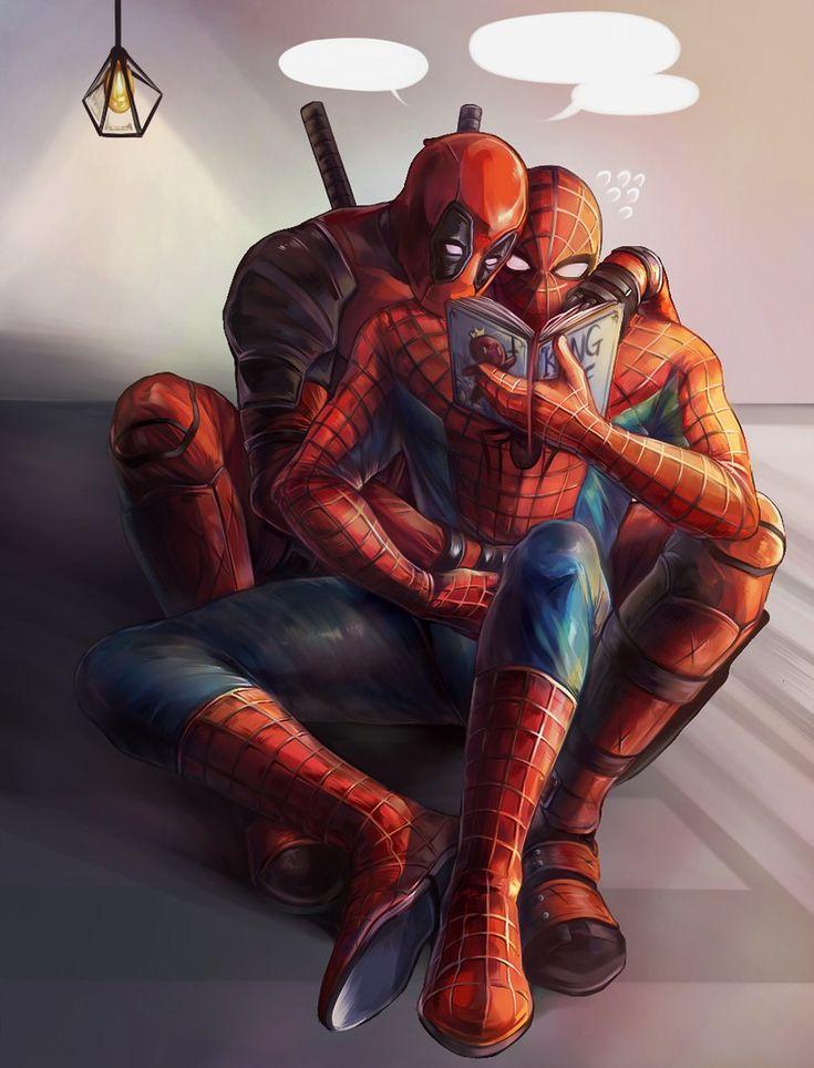 #spiderman #deadpool #spideypool