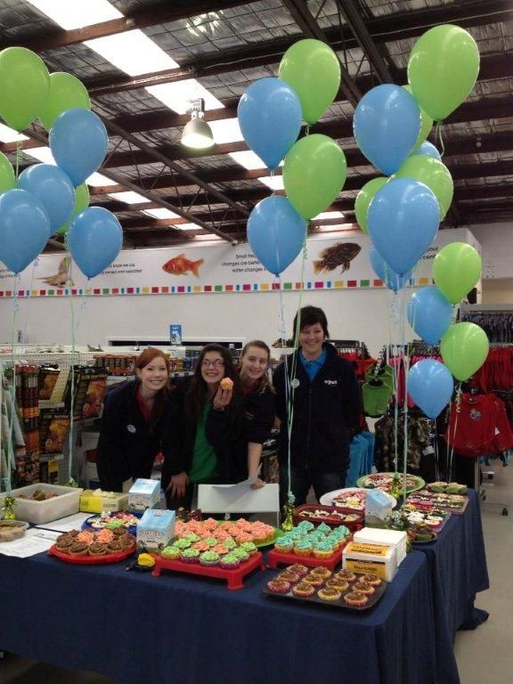 RSPCA Cupcake day in one of our PETstock South Australian stores
