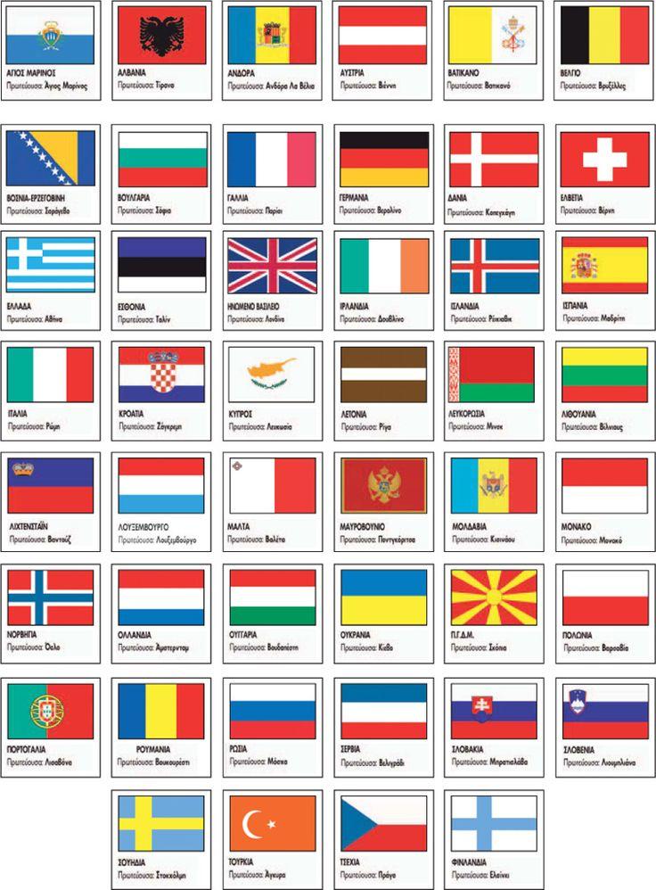 Οι κάτοικοι και τα κράτη της Ευρώπης   Πλανήτης Έκτη