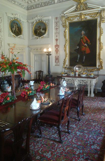 Nostell Priory State Dining Room