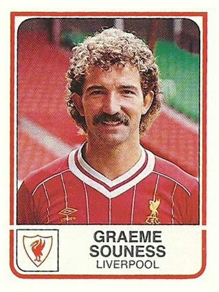 Graeme Souness of Liverpool in 1982.