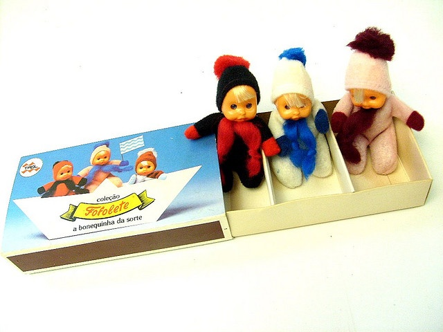 I had one of these 70's matchbox dolls
