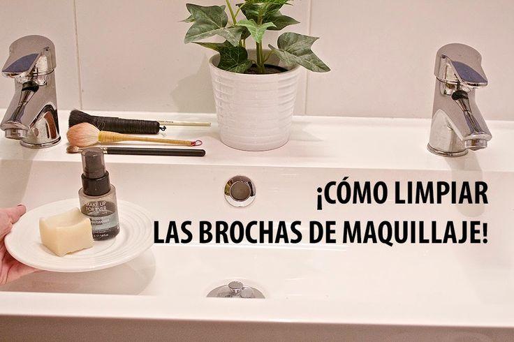 Aparichi Makeup: Blog de Maquillaje y Belleza - Maquilladora Profesional Madrid: VIDEO: CÓMO LIMPIAR LAS BROCHAS DE MAQUILLAJE