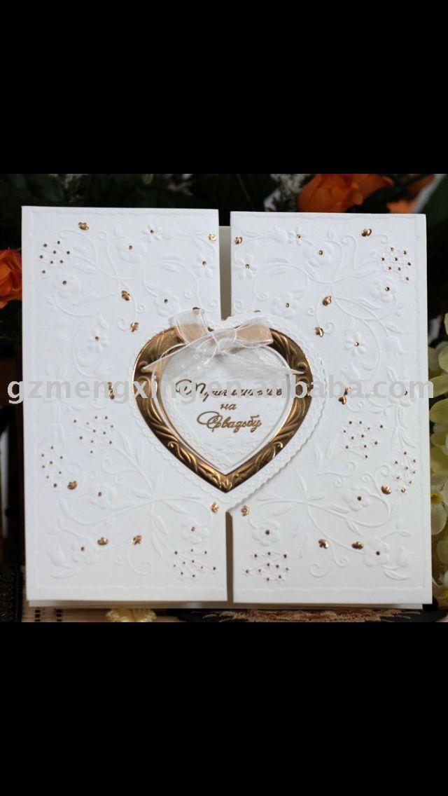 See larger image luxury wedding invitation card