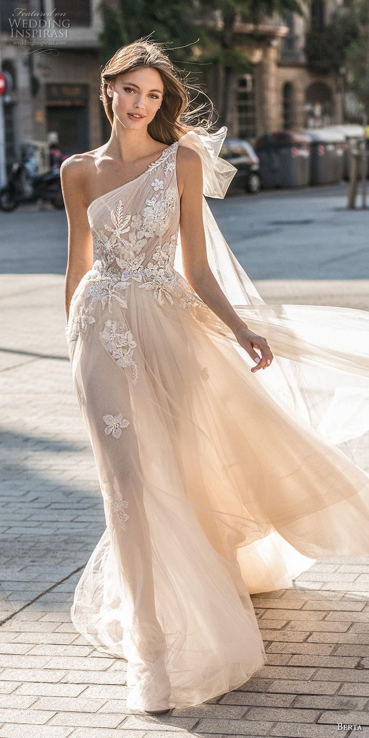"MUSE by Berta 2019 ""Barcelona"" Marriage ceremony Attire"