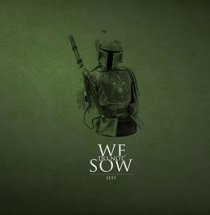 Created by Andrew Spear, these are a mashup of Game of Thrones mottos and Star Wars characters. Totally cool!