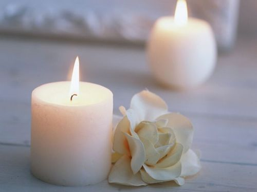 white candles & 11 best WHITE CANDLES :) ? images on Pinterest   White candles ... azcodes.com