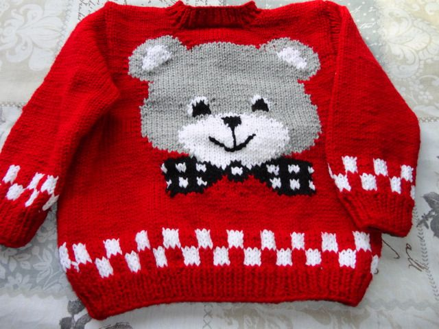 knitted toddler jersey