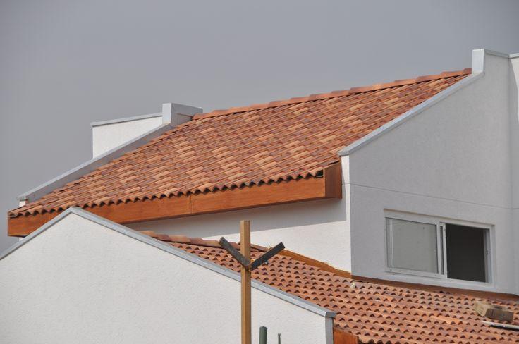 Tejas de hormigón Colonial / Tejas de Chena