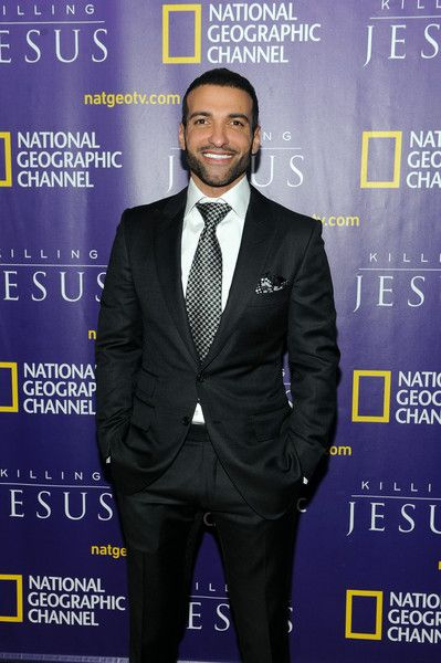 """Haaz Sleiman Photos: Red Carpet Event And World Premiere Of National Geographic Channel's """"Killing Jesus"""""""