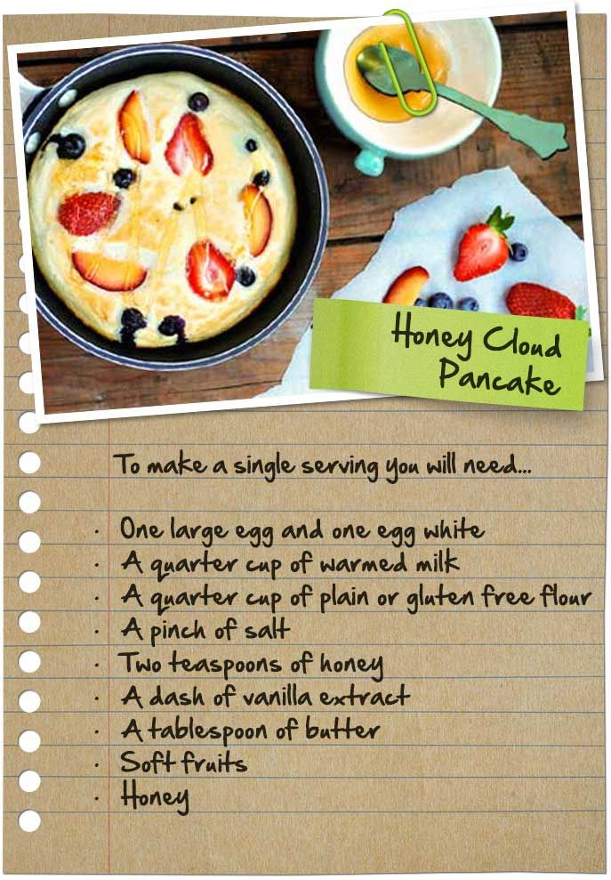 Honey-Cloud Pancakes #Pancake #ShroveTuesday