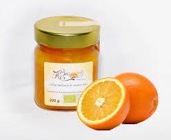 La marmellata preparata con le nostre arance biologiche