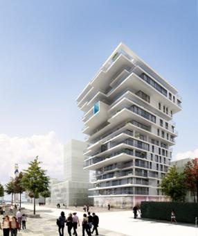 Oosteroever - Mixed development; residential use & commercial spaces - Belgium