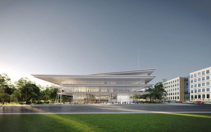 Krause Gateway Center: Renzo Piano Building Workshop (Des Moines, IA)