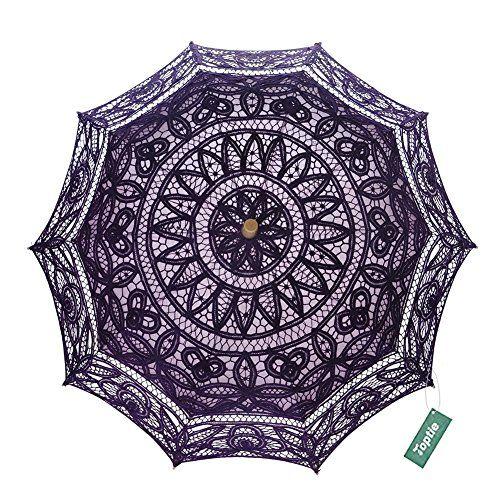 TopTie Embroidered Lace Umbrella Vintage Parasol For Wedd... https://www.amazon.com/dp/B0714FJFT2/ref=cm_sw_r_pi_dp_x_o1oGzbFR4X3KY