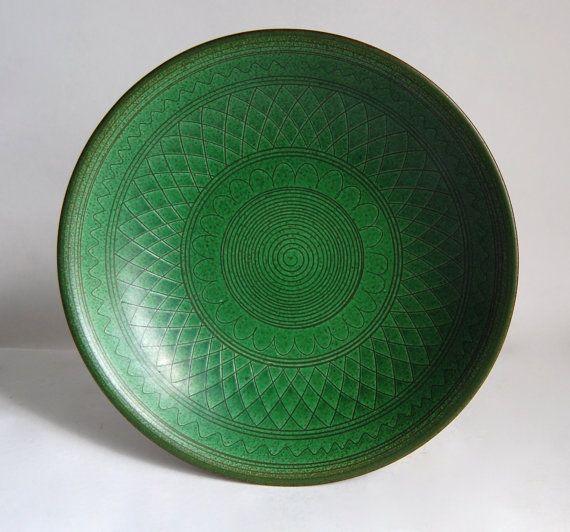 Midcentury Modern Bowl Vintage Austrian Julius Pitscheider Minimalist Serving Ware Home Decor Housewares Collectibles Wedding Gift