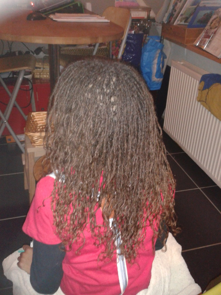 my daughters sisterlocks after a year lovely sisterlocks