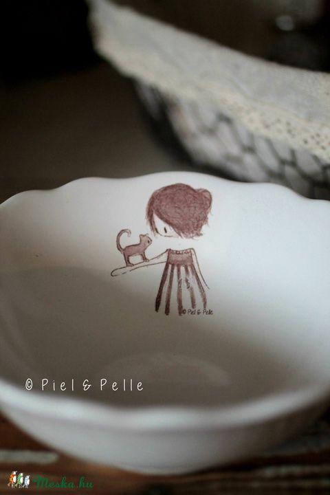 NAGYON KELL- Meska - Cicás kislány müzlistál PielandPelle kézművestől