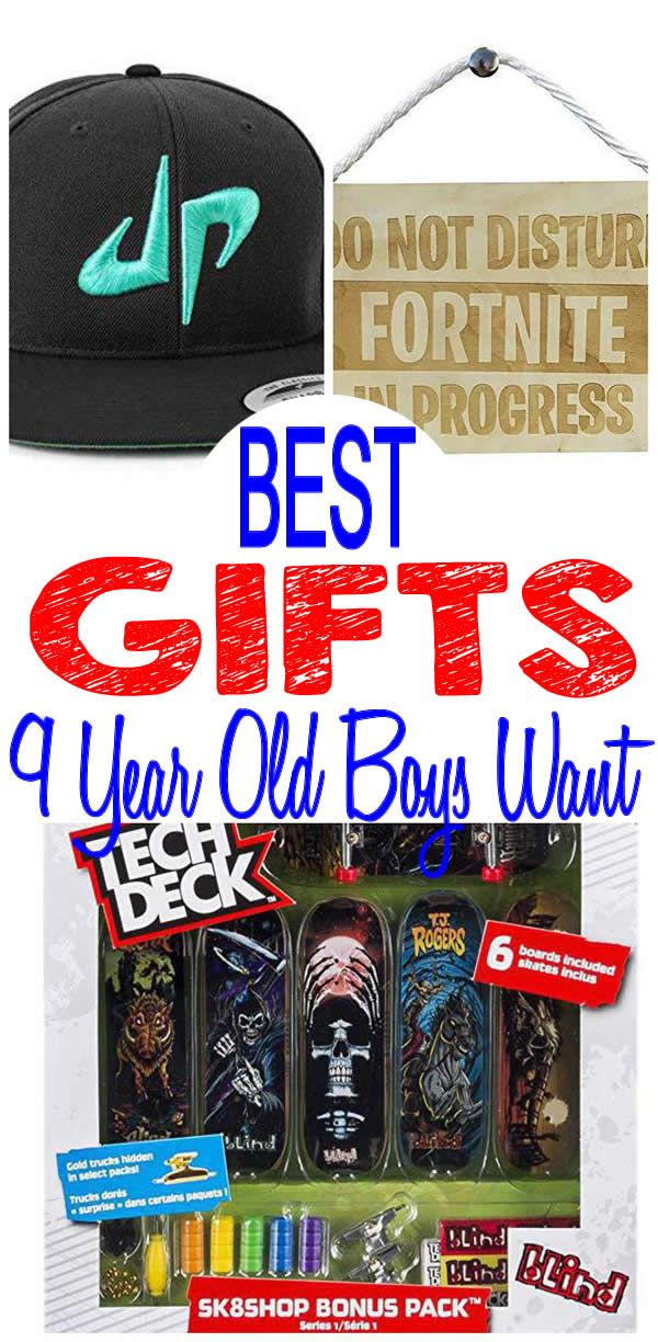 9 Year Old Boy Gifts Get The BEST Boys Will Want Find Most Popular And Trendy Presents For A 9th Birthday Christ