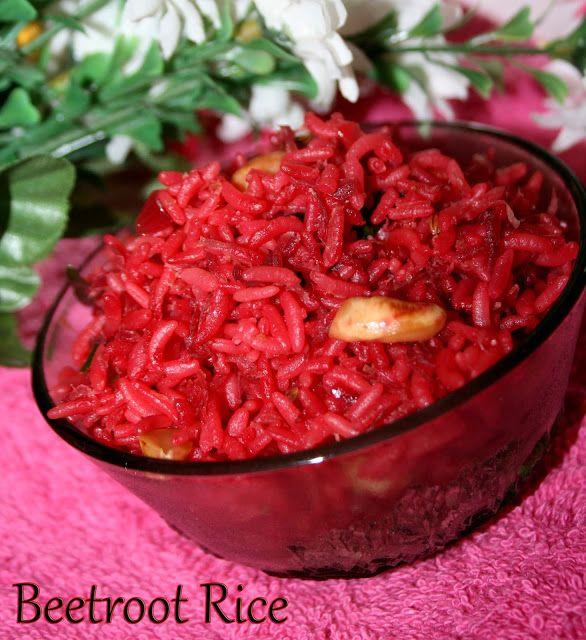 Pink Rice/Beetroot Rice