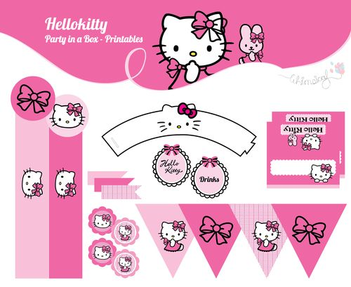 ONLINE STORE - Hello Kitty - Party in a box  http://awishawaywhimsical.blogspot.com/p/online-store_8.html#!/~/product/category=8473665&id=32901266