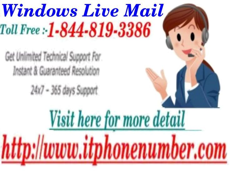 Welcome to the Windows live mail and grab the relevant support from experienced techies: