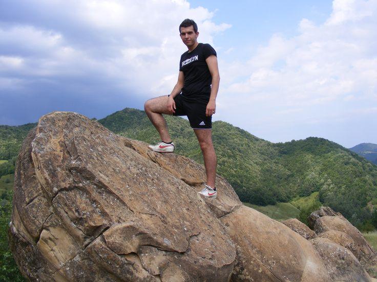 Romania, Buzau- Unusual growing rocks