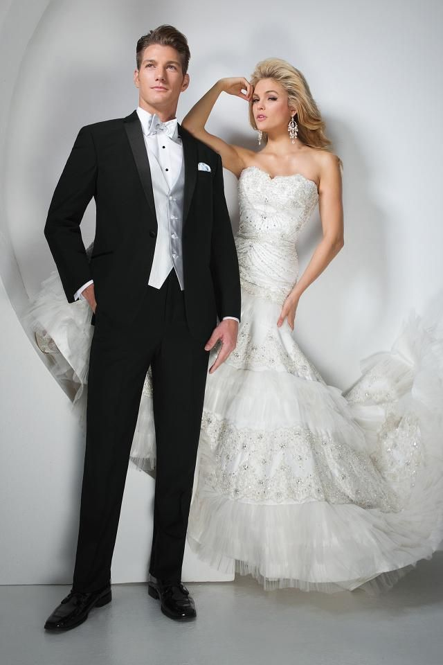 Simple Wedding Styles Jim us Formal Wear groom wedding tuxedo tux
