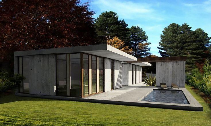 Bungalov by Lucie Kratochvilova Architecture Design