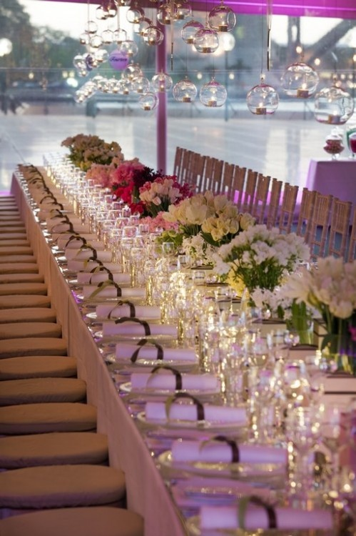 52 best venues images on pinterest wedding reception venues wedding table set up at the sydney opera house junglespirit Images